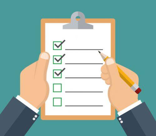 checklist mudança