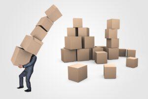 Organização da mudança_empacotamento
