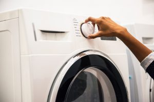 Transportar e embalar a máquina de lavar