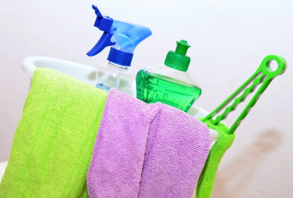 Como fazer uma limpeza antes da mudança