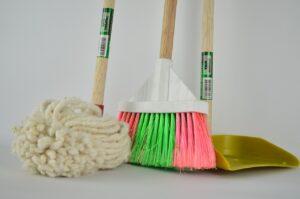 Fazer uma limpeza antes da mudança